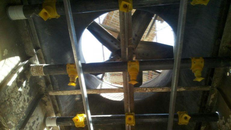 تعمیر برج خنک کننده شرکت عطران دارو