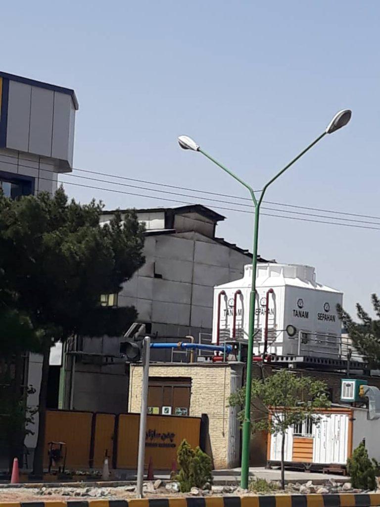 برج خنک کننده چدن سازان