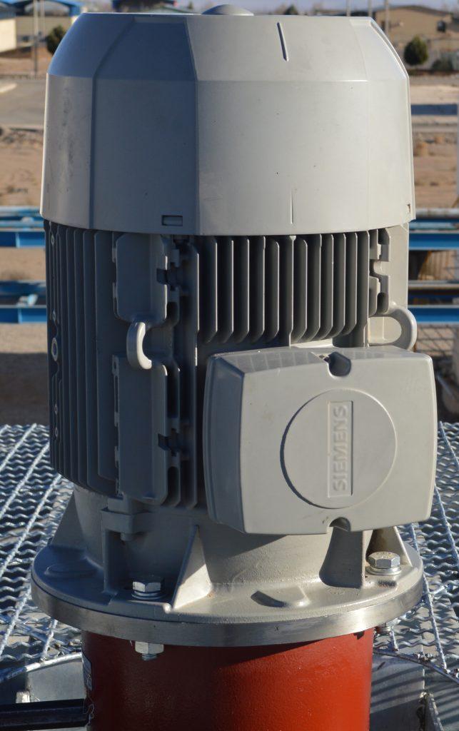 الکتروموتور عمود نصب برج خنک کننده